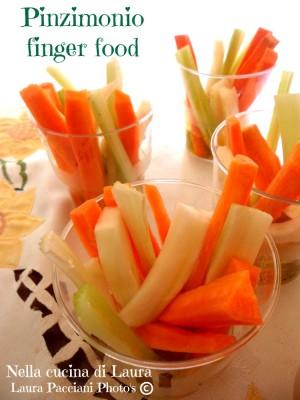 pinzimonio finger food - nella cucina di laura