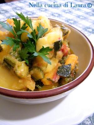 tegamata di verdure - nella cucina di laura
