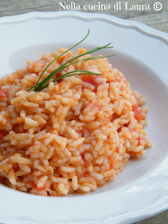 risotto all'aglione - nella cucina di laura