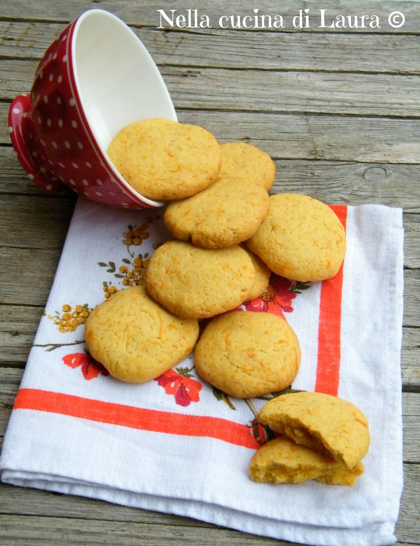 biscotti alla zucca - nella cucina di laura