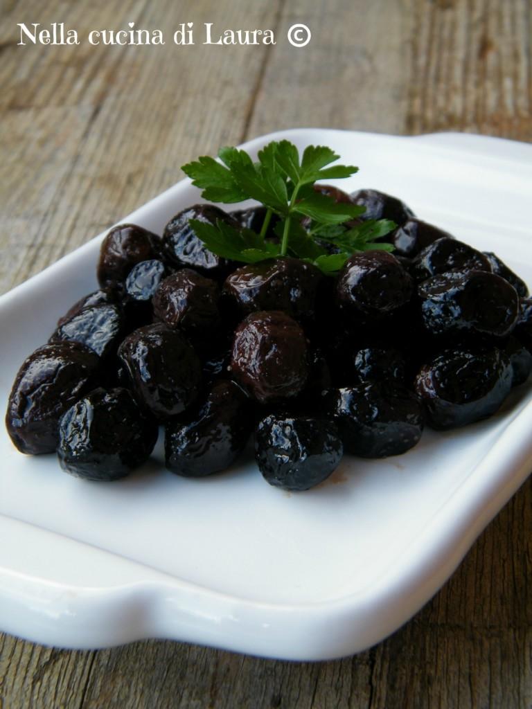 come conservare le olive nere sotto sale - nella cucina di laura