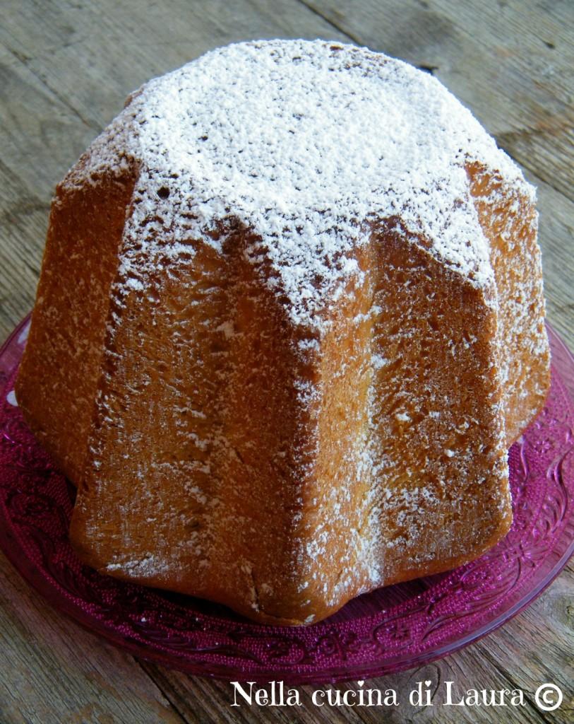 pandoro tradizionale a lievitazione naturale - nella cucina di laura