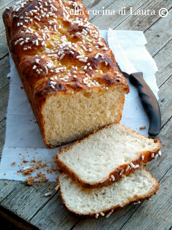 treccia brioche dolce al kefir a lievitazione naturale - nella cucina di laura