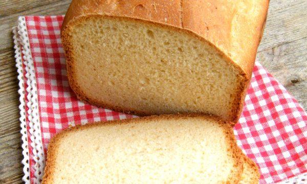 PANE AL LATTE | ricetta per la macchina del pane