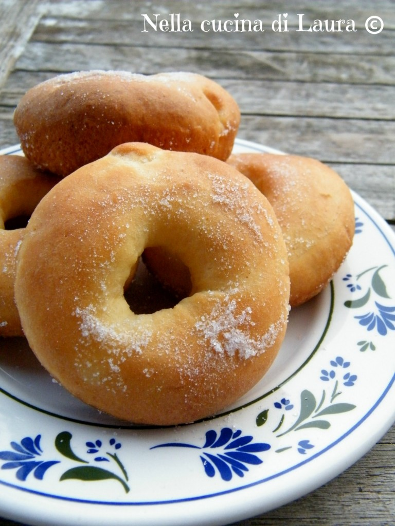 ciambelline dolci al forno - nella cucina di laura