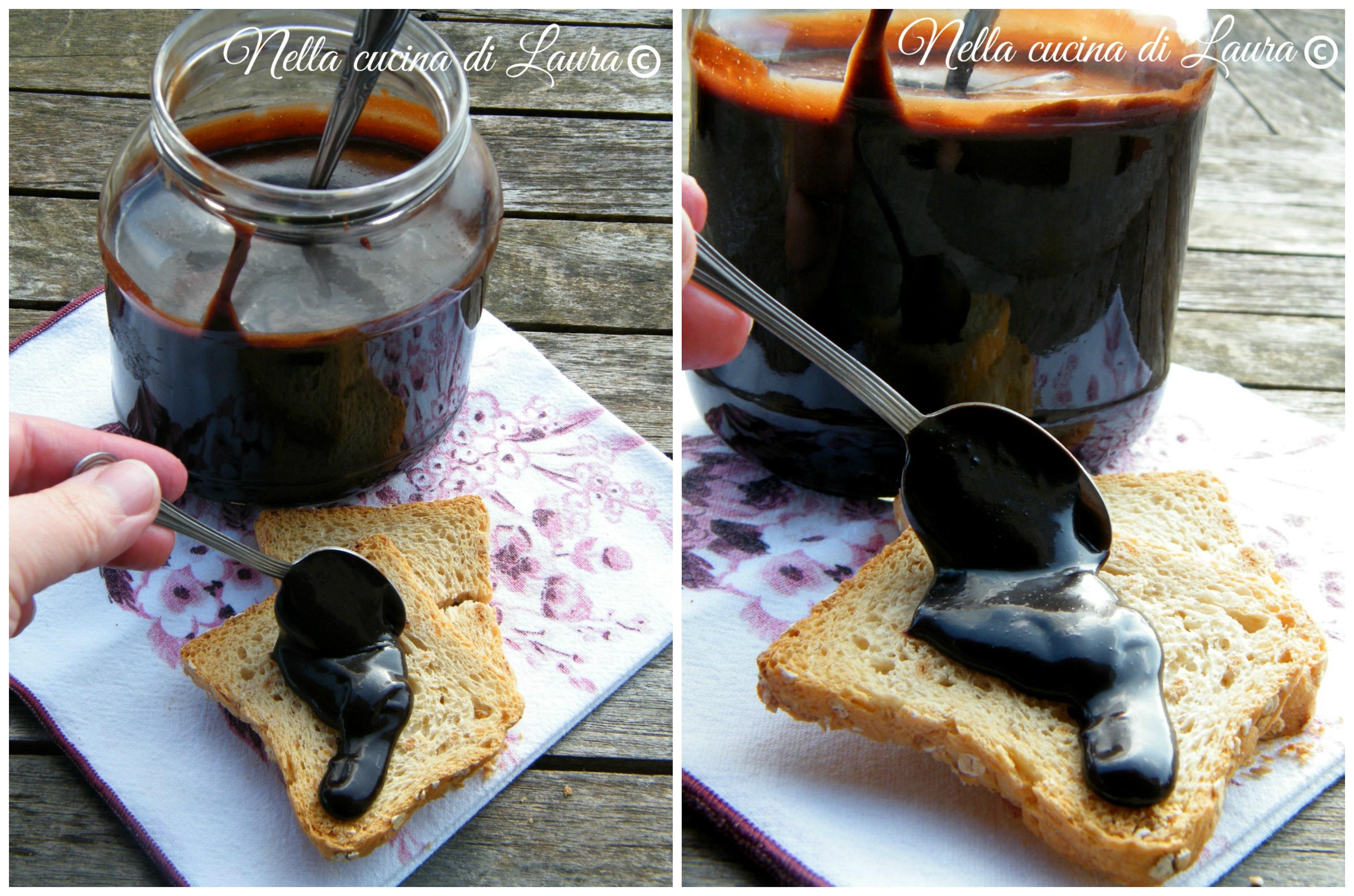 crema spalmabile alle nocciole fatta in casa, simil nutella - nella cucina di laura