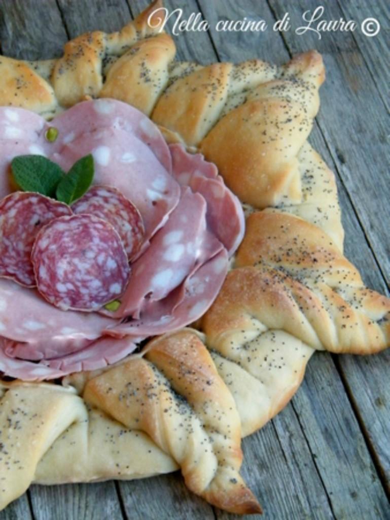 cestino di pane per salumi - nella cucina di laura