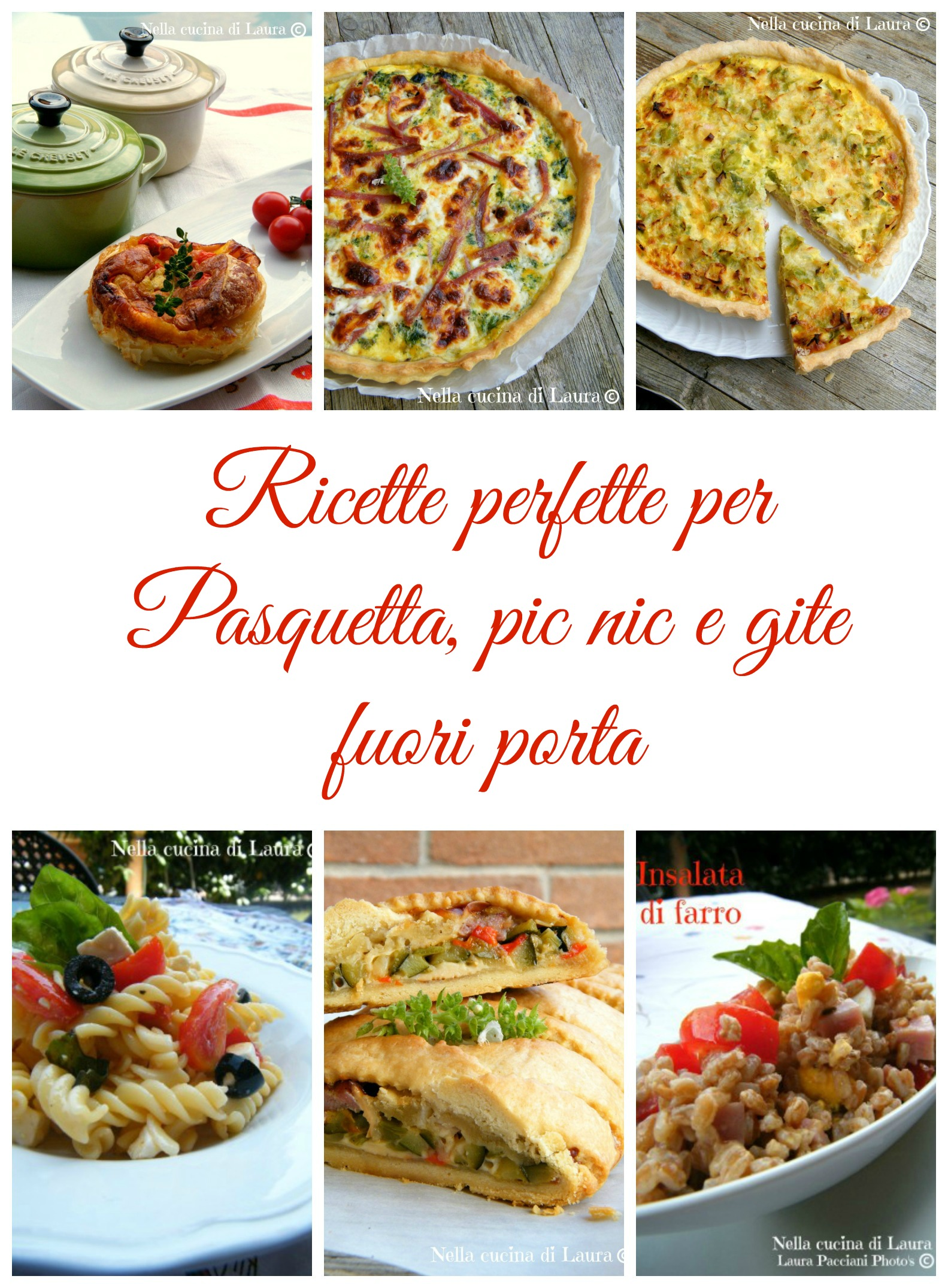 Ricette perfette per Pasquetta pic nic e gite fuori porta - nella cucina di laura