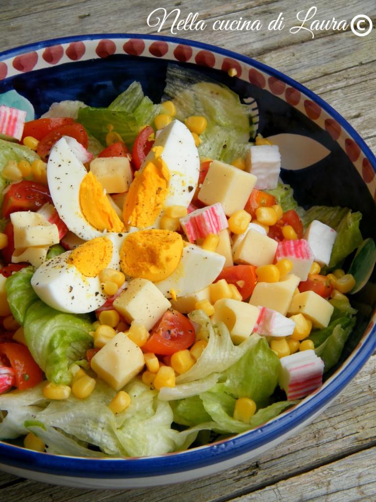 insalatona mista - nella cucina di laura