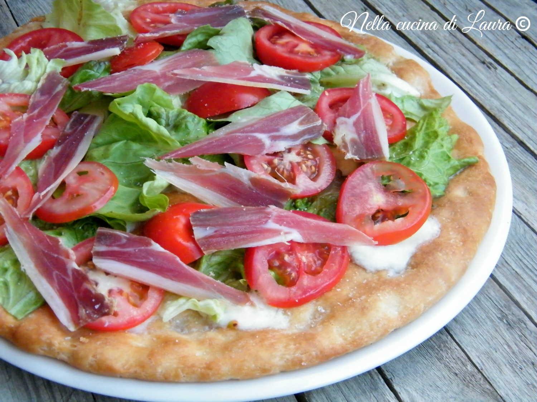 pizza estiva - nella cucina di laura