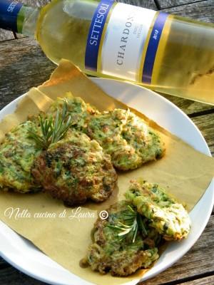 frittelle di zucchine - nella cucina di laura