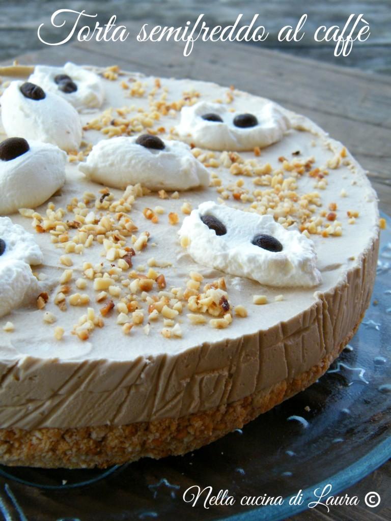torta semifreddo al caffe' - nella cucina di laura