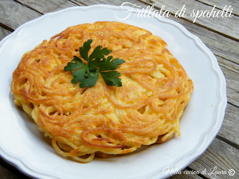 frittata di spaghetti - nella cucina di laura