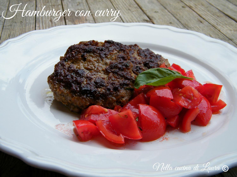 hamburger con curry - NELLA CUCINA DI LAURA