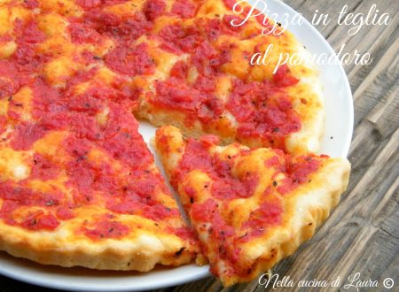PIZZA IN TEGLIA AL POMODORO