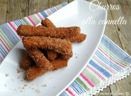 CHURROS ALLA CANNELLA