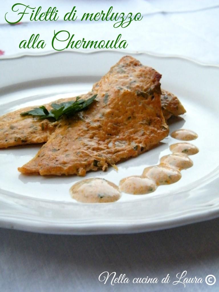 filetti di merluzzo alla Chermoula - nella cucina di  laura