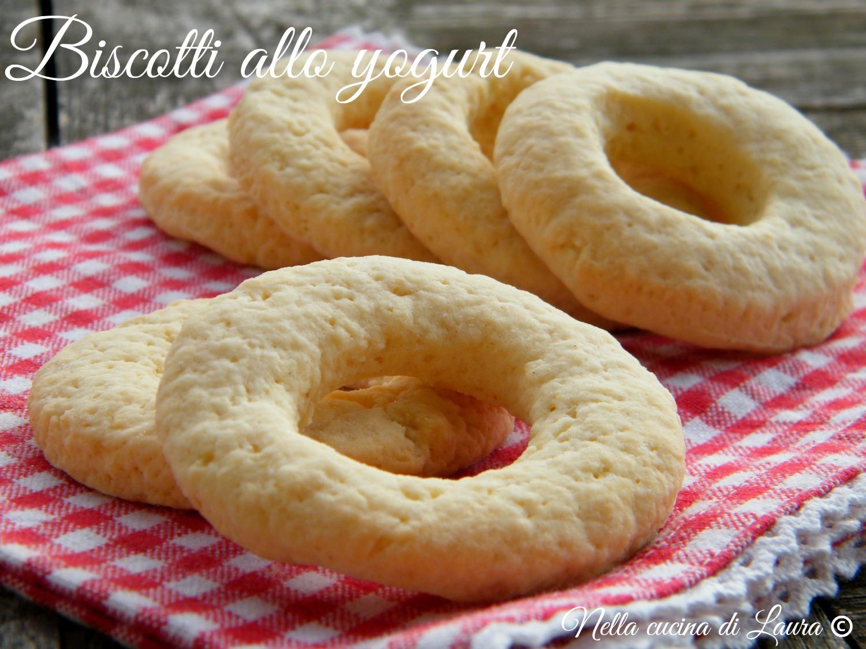 biscotti allo yogurt - nella cucina di laura