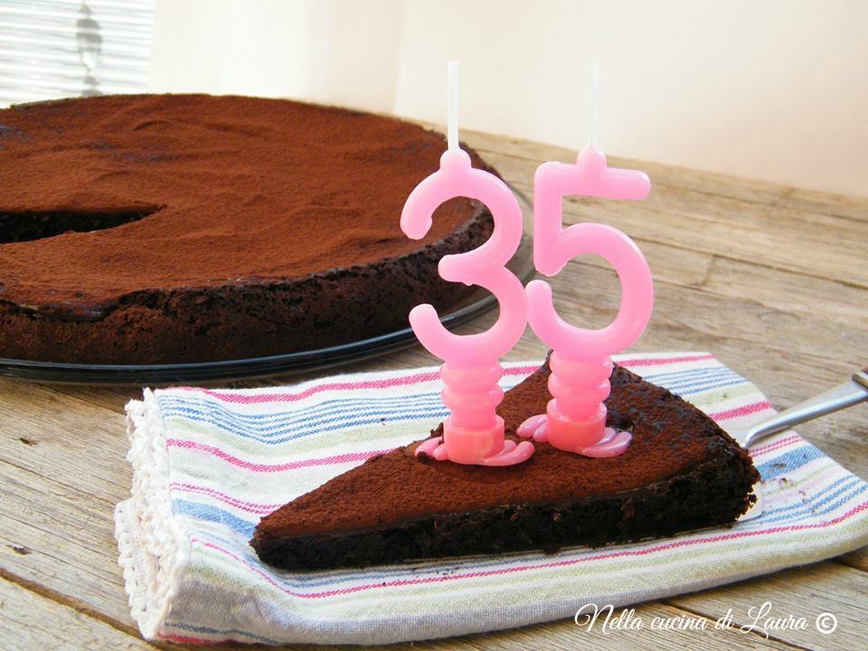 torta tartufo al cioccolato - nella cucina di laura