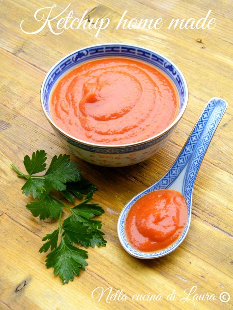 ketchup home made - nella cucina di laura