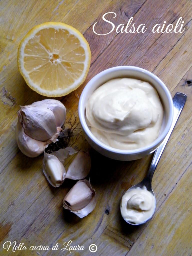 salsa aioli  - nella cucina di laura