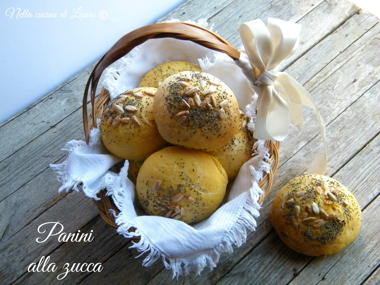 panini alla zucca - nella cucina di laura