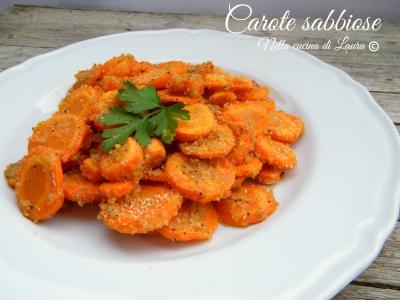 carote sabbiose - nella cucina di laura