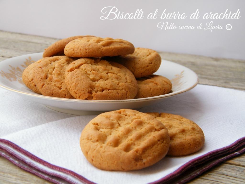 biscotti al burro di arachidi - nella cucina di laura