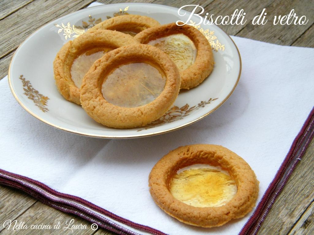 biscotti di vetro - nella cucina di laura