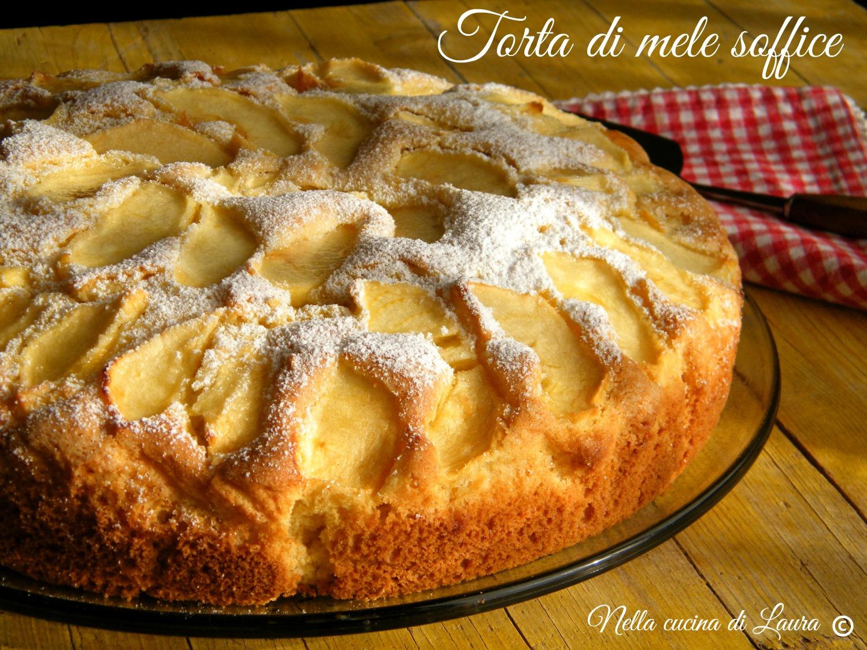 Ricetta torta di mele morbida e soffice