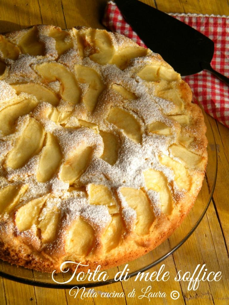 torta di mele soffice - nella cucina di laura