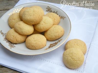 biscottini al burro - nella cucina di laura