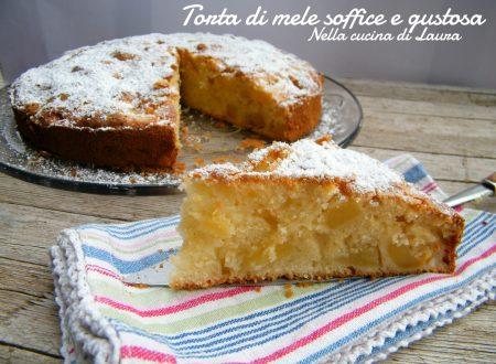 TORTA DI MELE SOFFICE E GUSTOSA