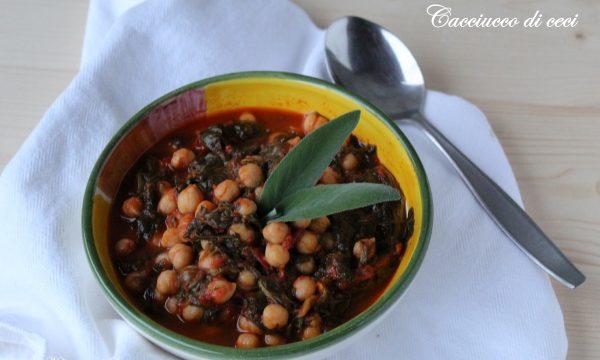 CACCIUCCO DI CECI – ricetta tradizionale toscana