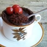 MUG CAKE ALLA NUTELLA – TORTA IN TAZZA