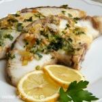 tranci di verdesca al limone - nella cucina di laura