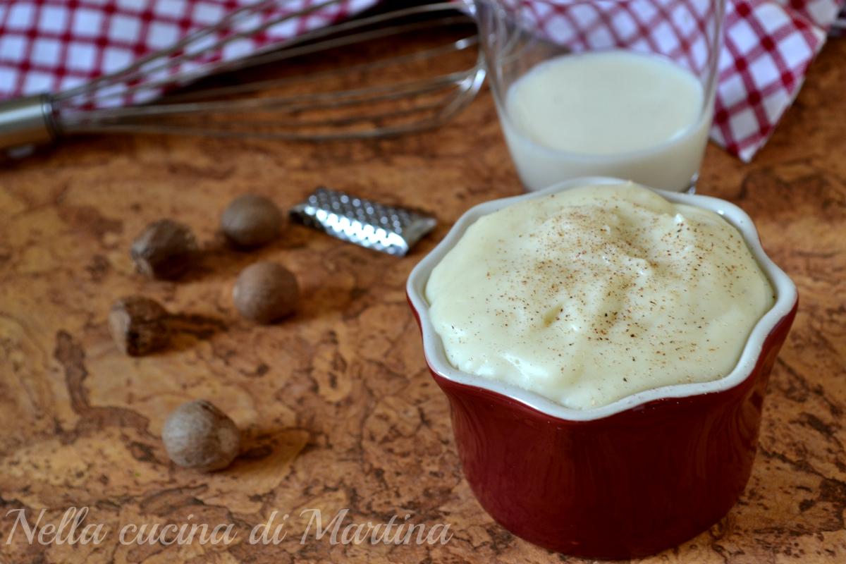 besciamella senza grumi ricetta nella cucina di martina