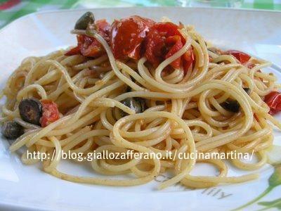spaghetti finto mare