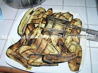 pasta con zucchine e melanzane grigliate