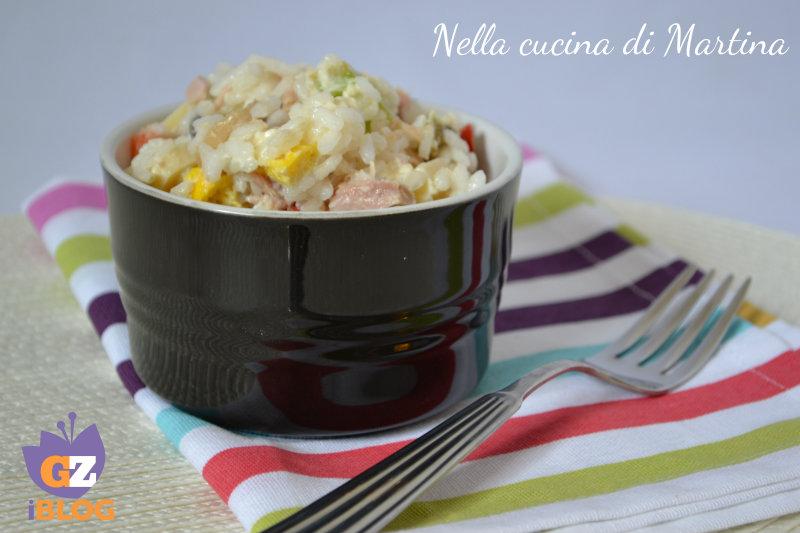insalata di riso classica nella cucina di martina blog ricetta