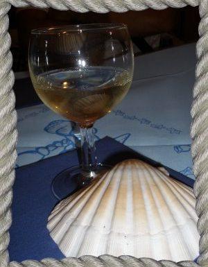 Il corsaro. Una cena a Capraia.