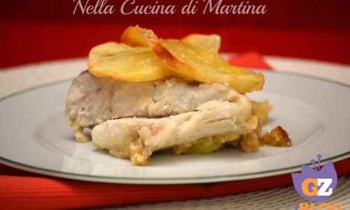 pesce persico con patate light