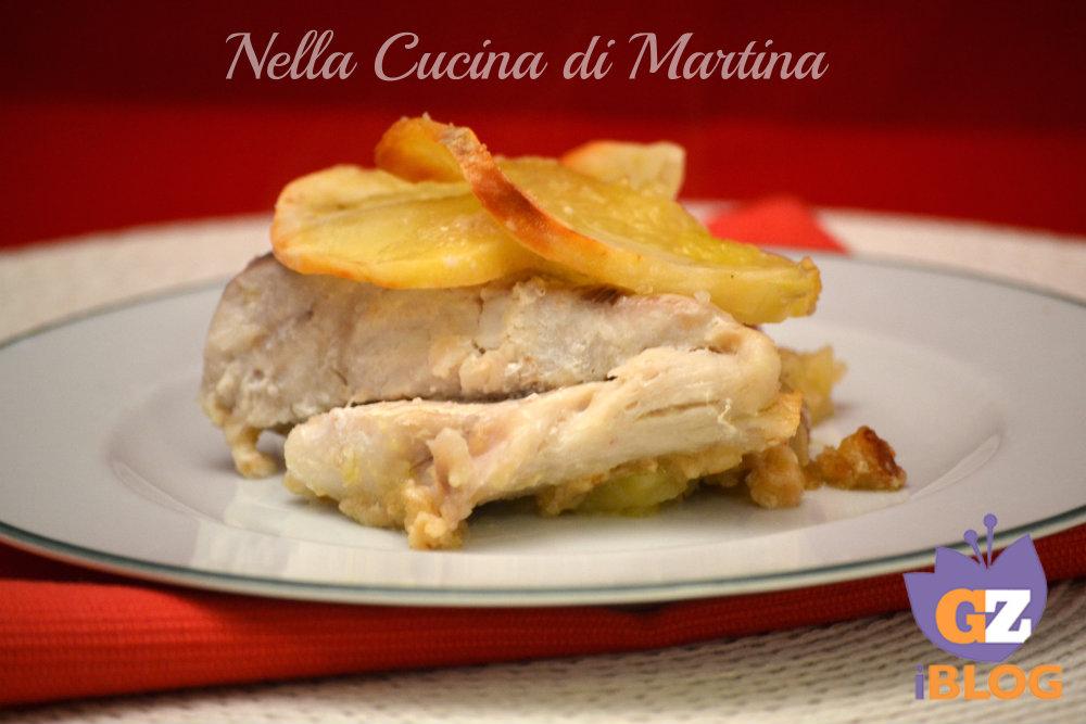 pesce persico e patate light nella cucina di martina blog