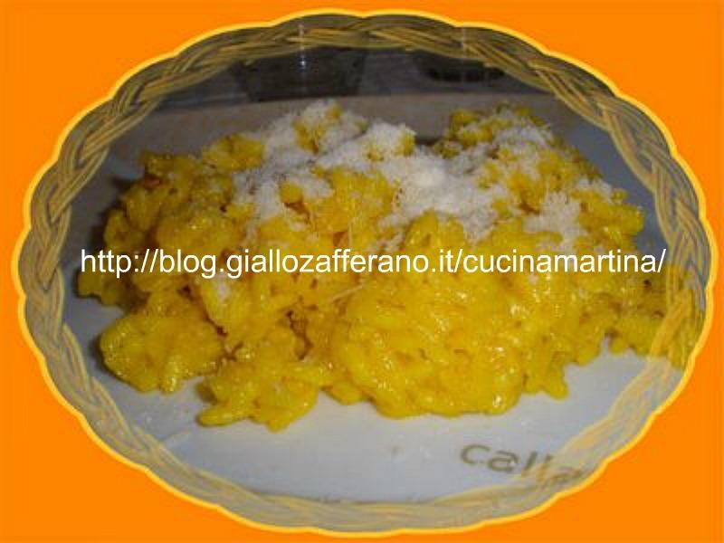 risotto allo zafferano ricetta al microonde