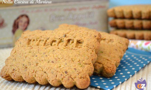 Biscotti integrali ai pistacchi