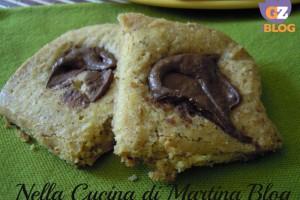biscotti rustici alla nutella, ricetta dolce