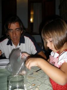 Camilla e le conchiglie....