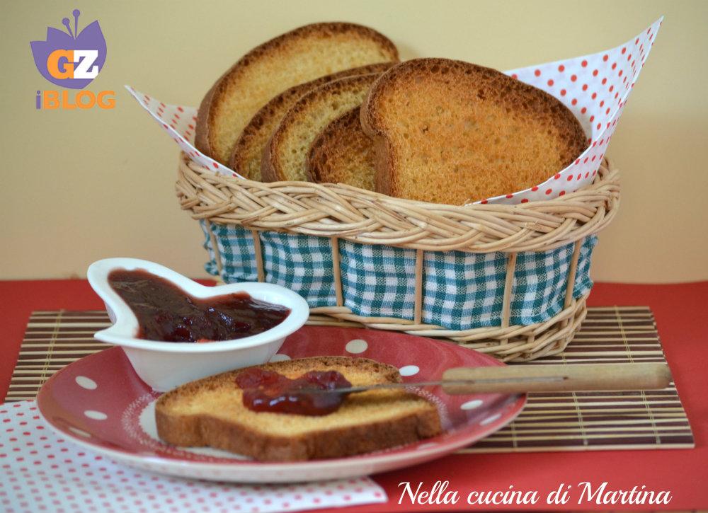 fette biscottate ricetta nella cucina di Martina blog
