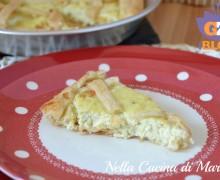 Torta salata al gorgonzola e ricotta