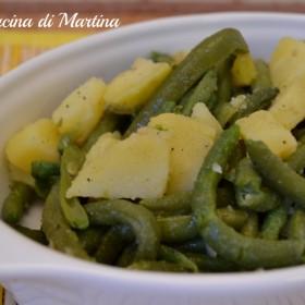 fagiolini e patate ricetta contorno